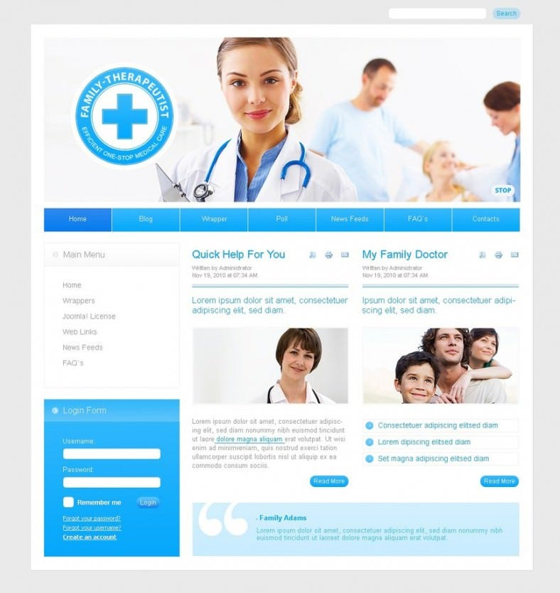 best doctor joomla template 55 788x834