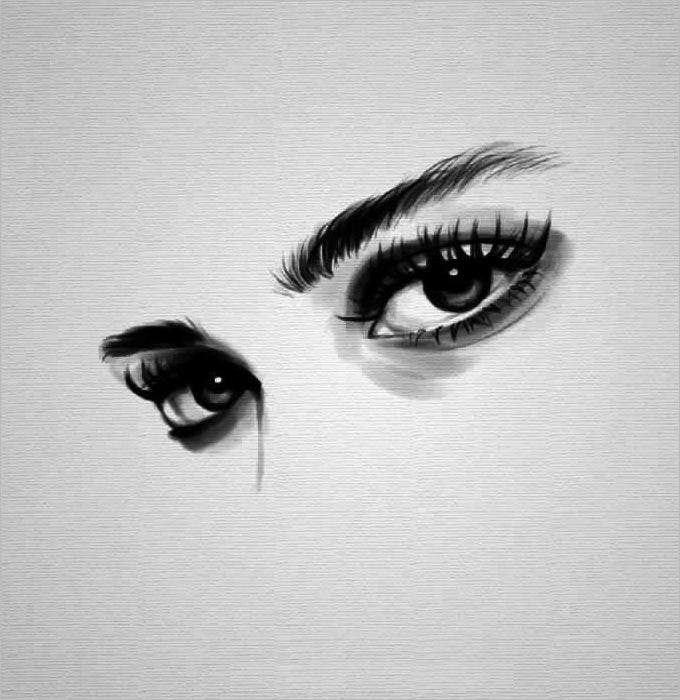 best eye pencil drawing