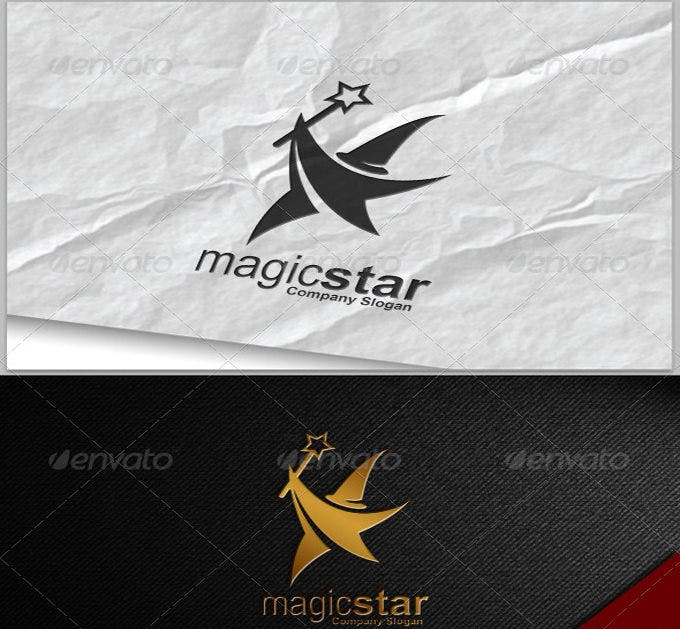 best magic star logo