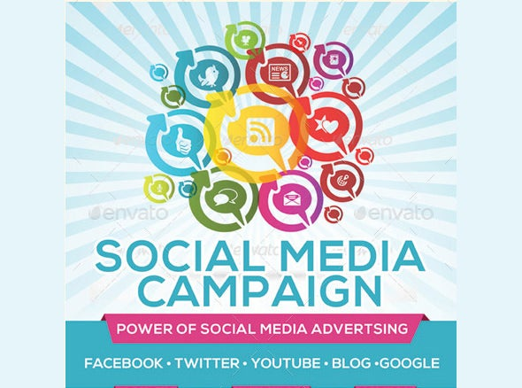 best social media campaign flyer