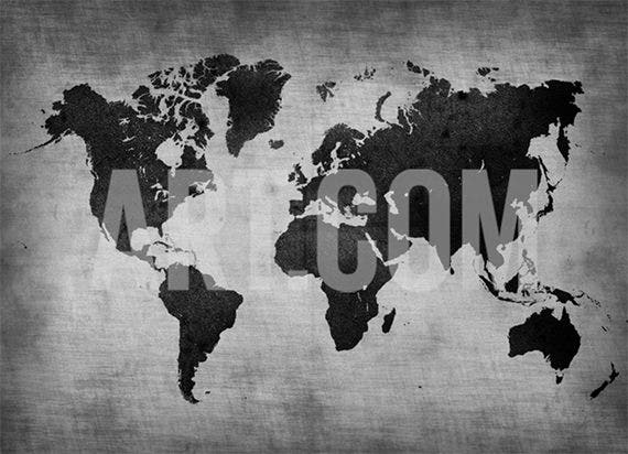 best world map poster