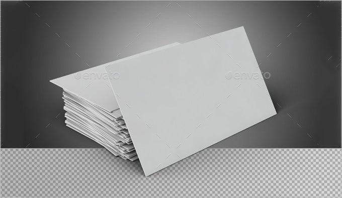 Blank Card Template  Free Psd Eps Format Download  Free
