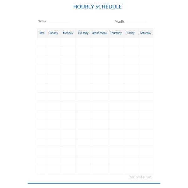 blank-hourly-schedule-template