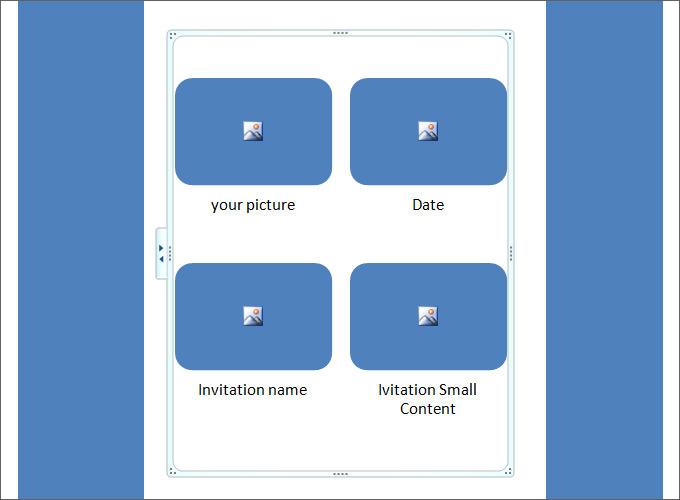 blank simple ivitation free