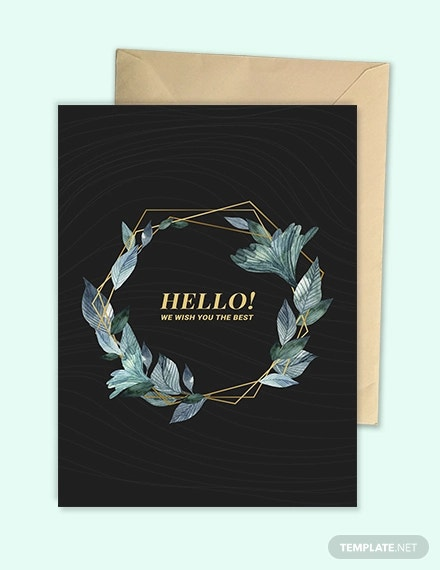 blank greeting card template2