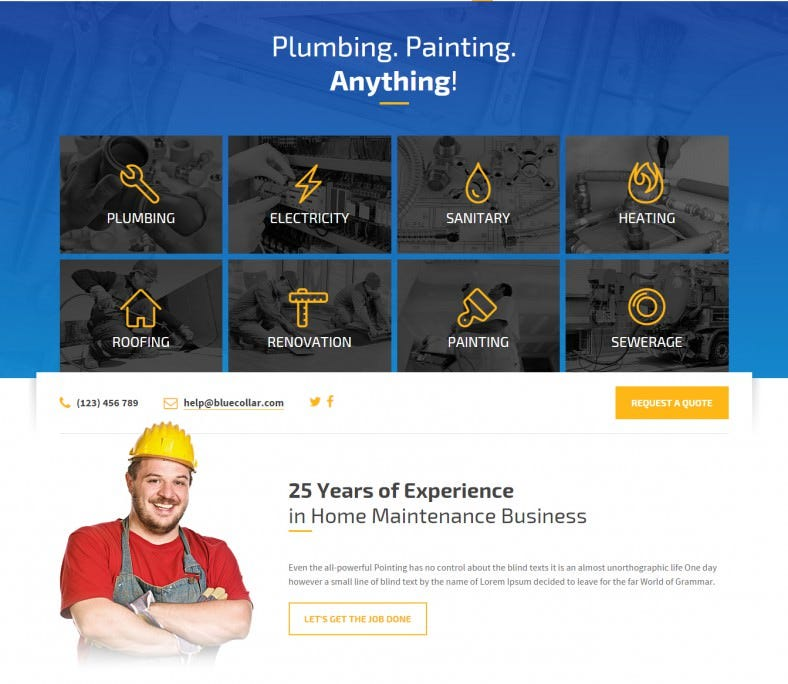 blue collar plumber wordpress template 16 788x684