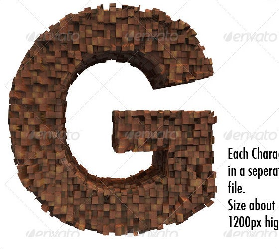 brown wooden alphabet letters 1