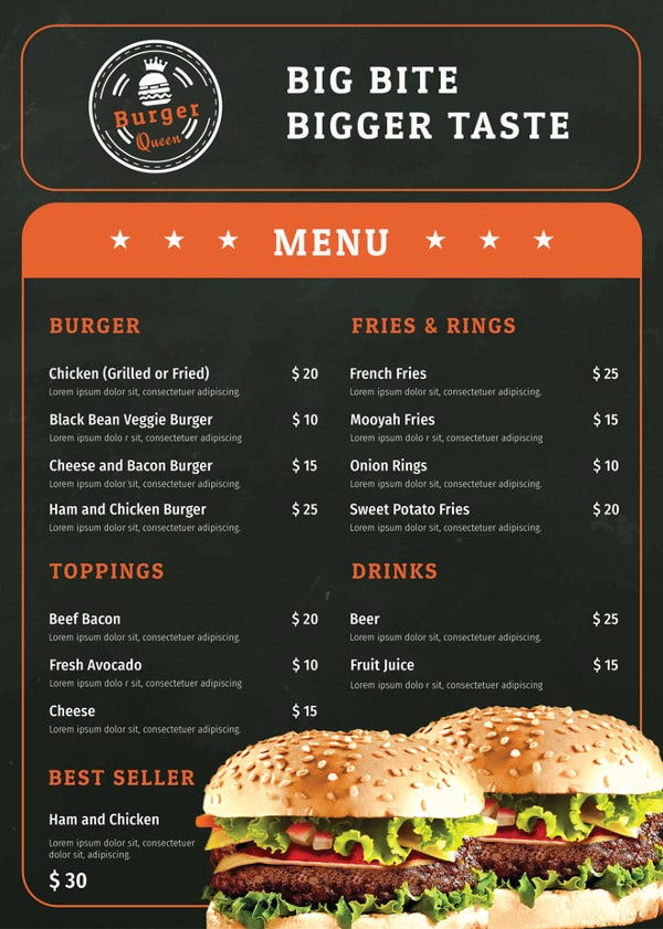 burger menu template2
