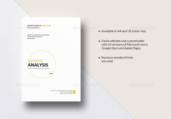business-analysis-template