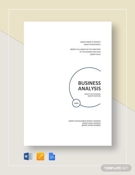 business analysis template1
