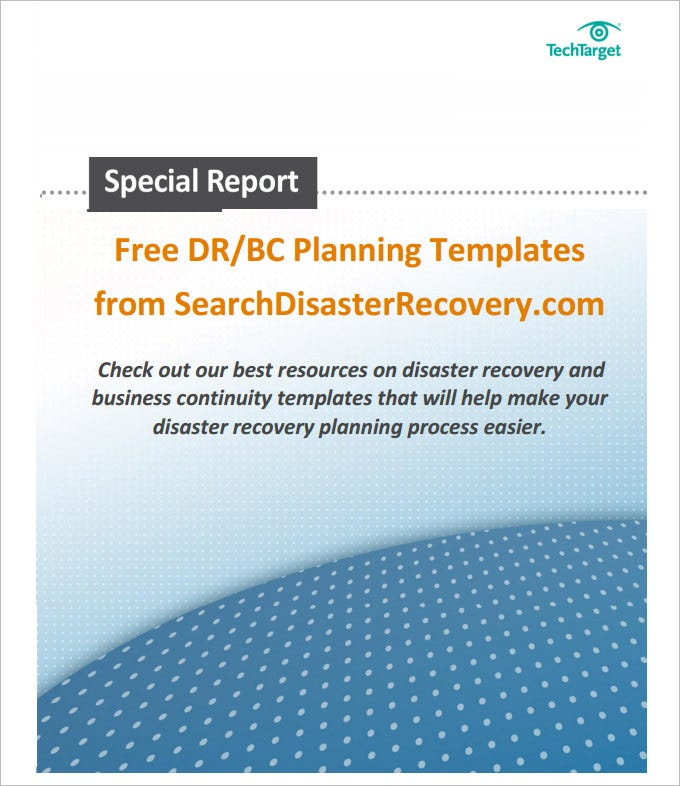 business continuity plan template .