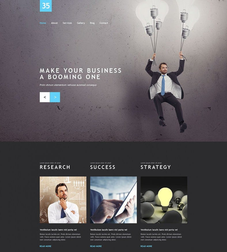 Business Static Website Template