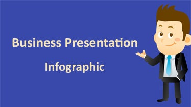 business presentaion infographic