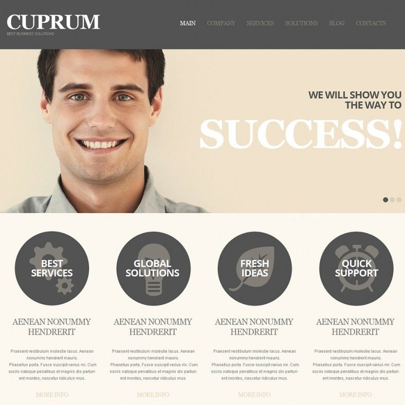 Business Solutions Online WordPress Theme