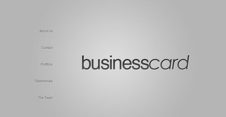 Business vCard WordPress Theme