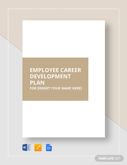 Professional Development Plan Template 13 Free Word