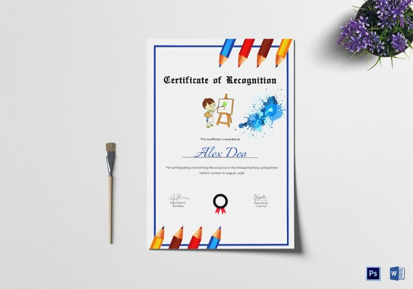 certificate-of-completion-painting-template