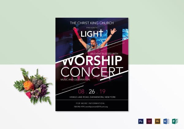 43  concert flyer templates  u0026 designs