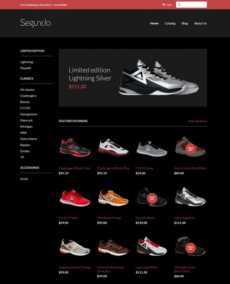 Ecommerce Website Templates Free