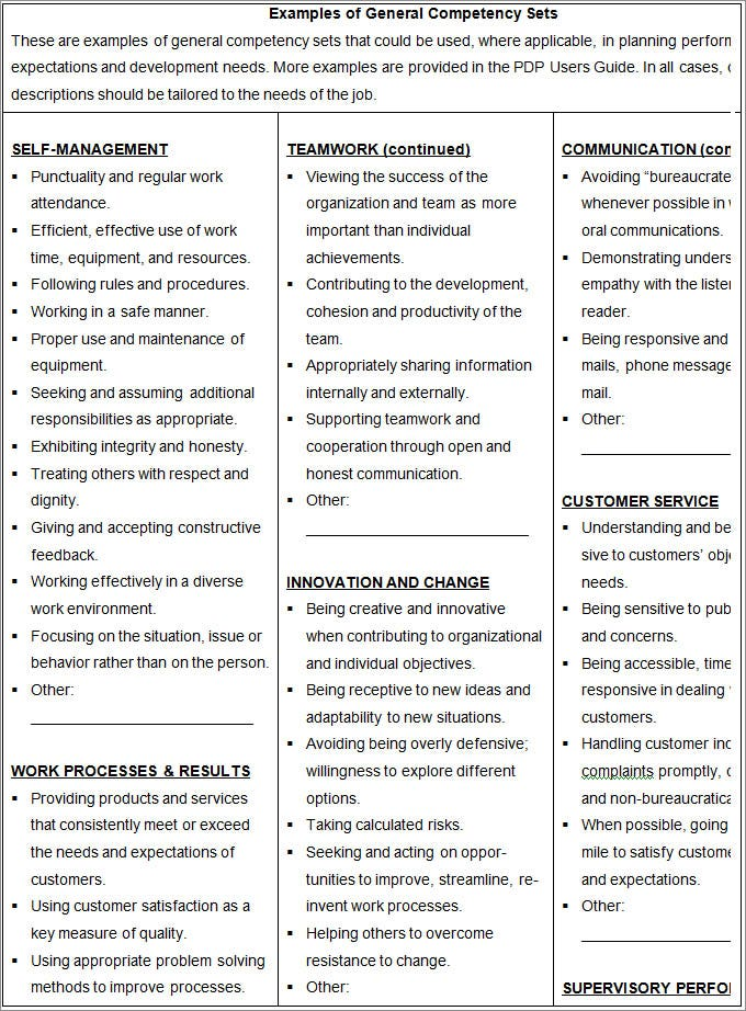 classified employee performance and development plan template3