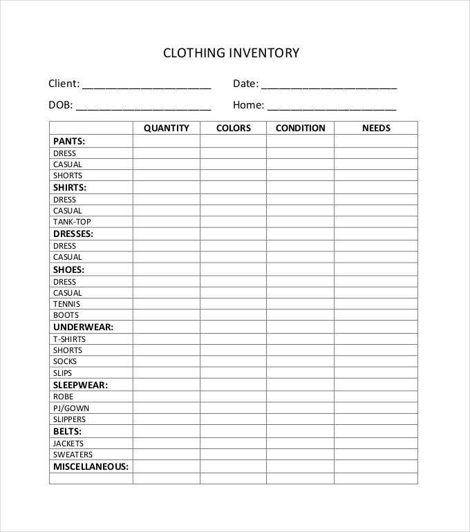 clothing-inventory-spreadsheet-pdf