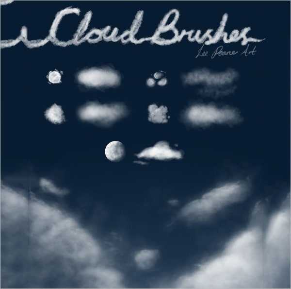 cloud brushes 1