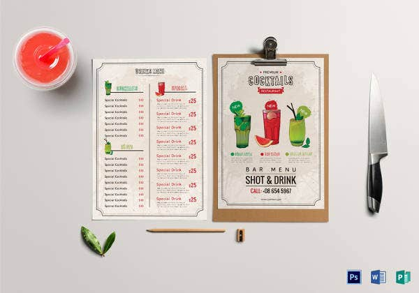 cocktails-drink-menu-design-for-bar-restaurant
