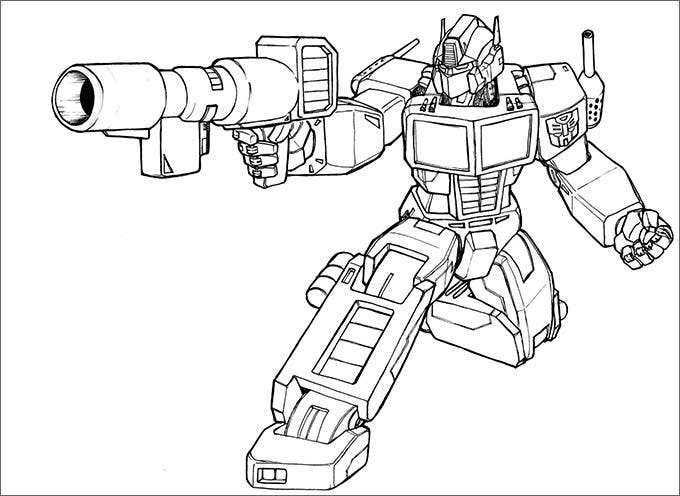 coloring pages transformers125
