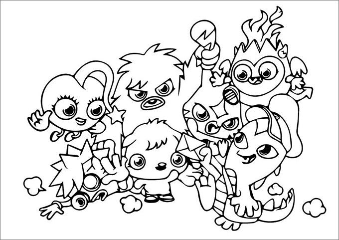 colouring pages cutest563