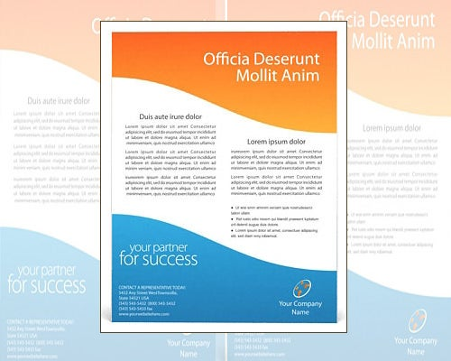 61 best microsoft word flyer templates free premium for Brochure template ms word