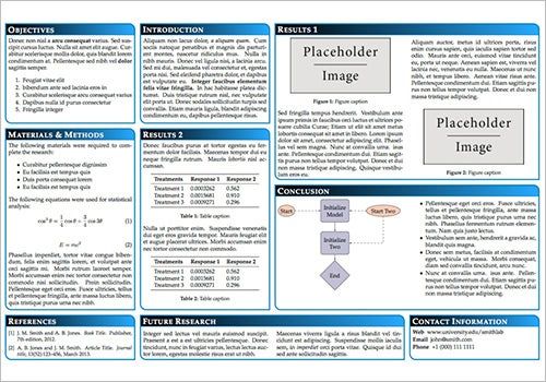 word templates for posters