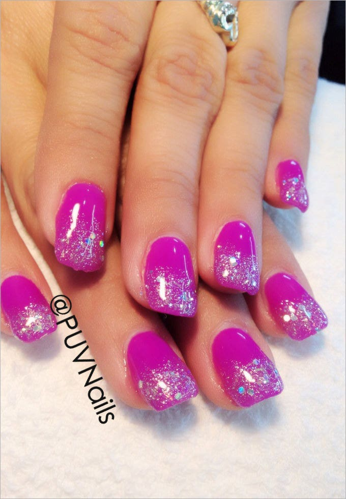 cool gel nail design - Gel Nail Designs Ideas