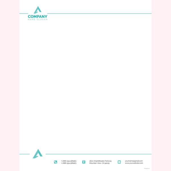 letterhead format word