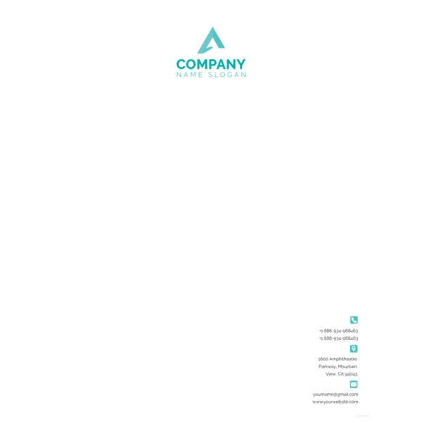 corporate-letterhead-formatfree-download