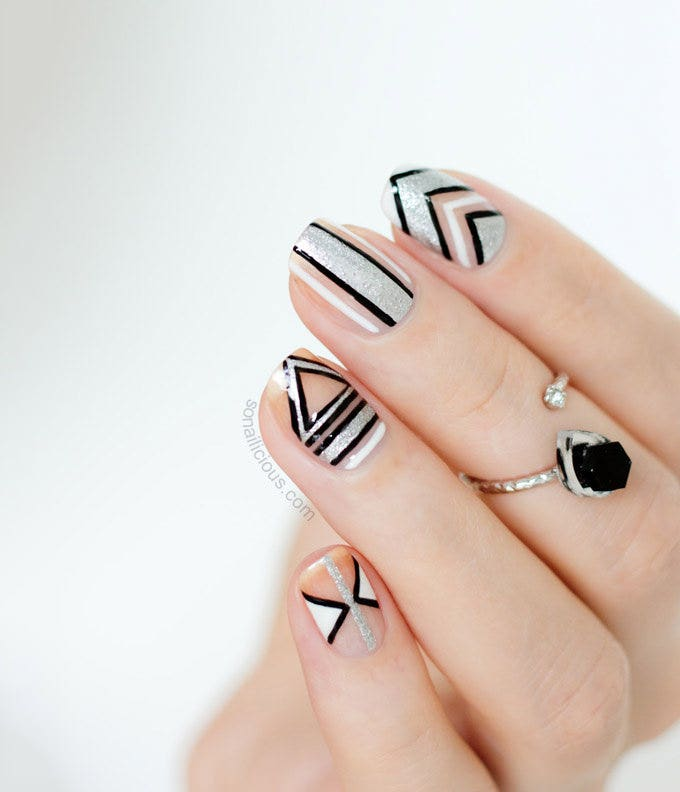 crazy nail design idea