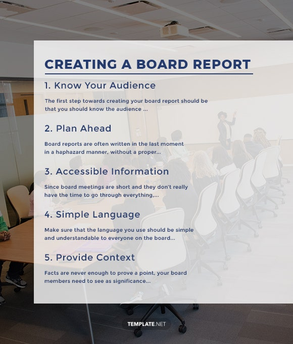 creating a board report1