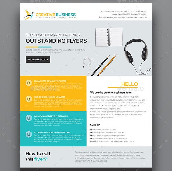 Campaign Flyers 35 Free Psd Ai Vector Eps Format Download