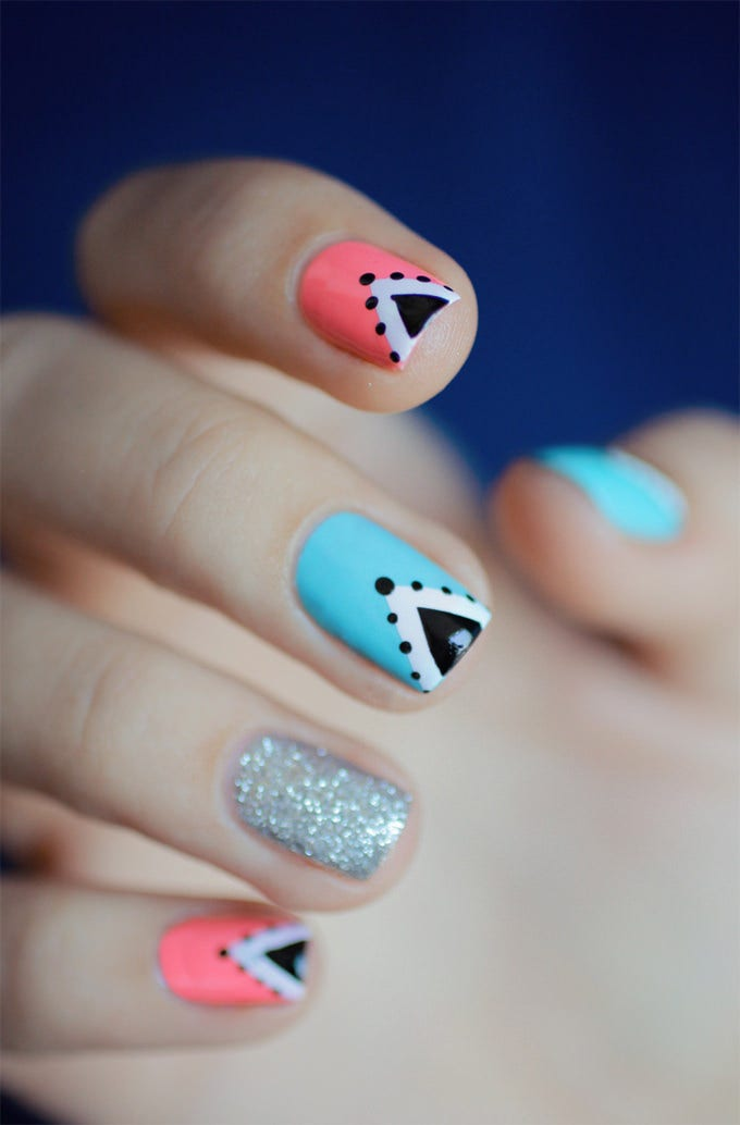 creative nail design picture