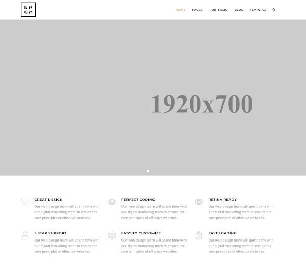creative responsive minimal drupal themes1