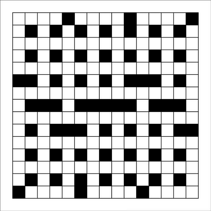 Blank Crossword Template - Crossword Template | Free & Premium Templates