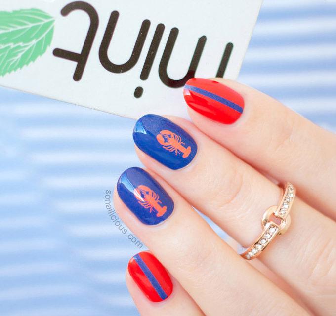 crreative nail art design