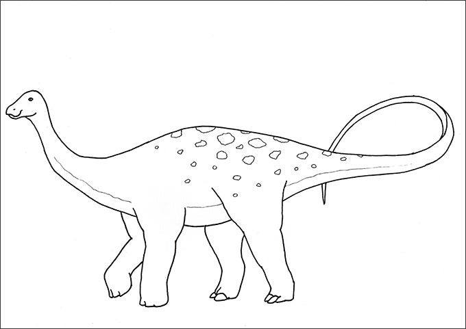 Coloring Books For Adults Dinosaurs : 25 dinosaur coloring pages free download