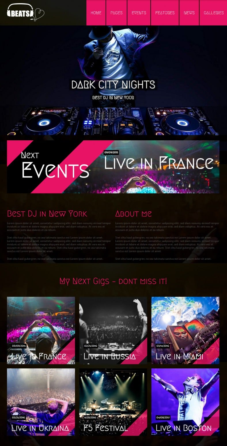 dj beats wordpress music theme 69 788x1551
