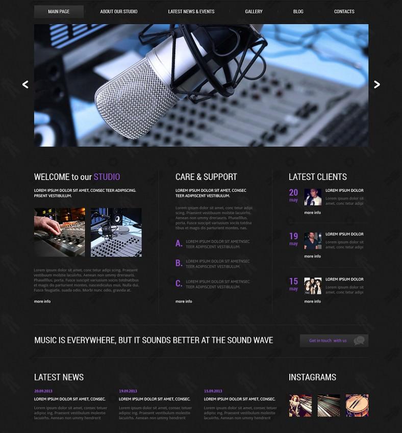 dj responsive joomla template download 75 788x849