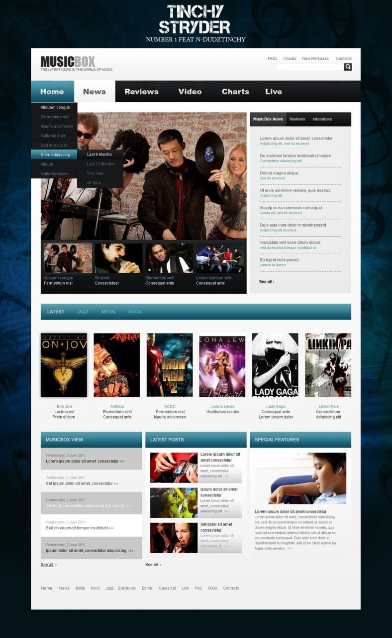 20 Best Dj Wordpress Website Templates Themes Free Premium
