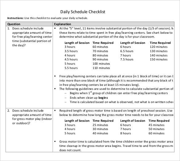 daily-schedule-checklist