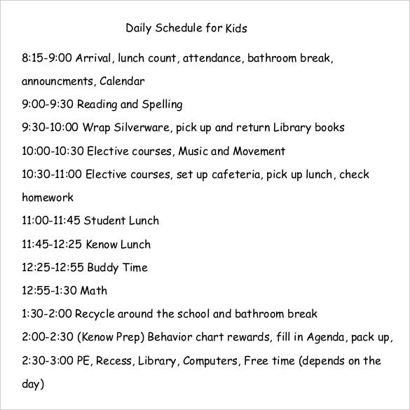 daily-schedule-for-kids