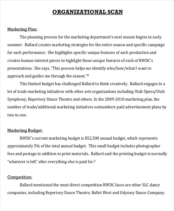 dance-event-marketing-plan-template