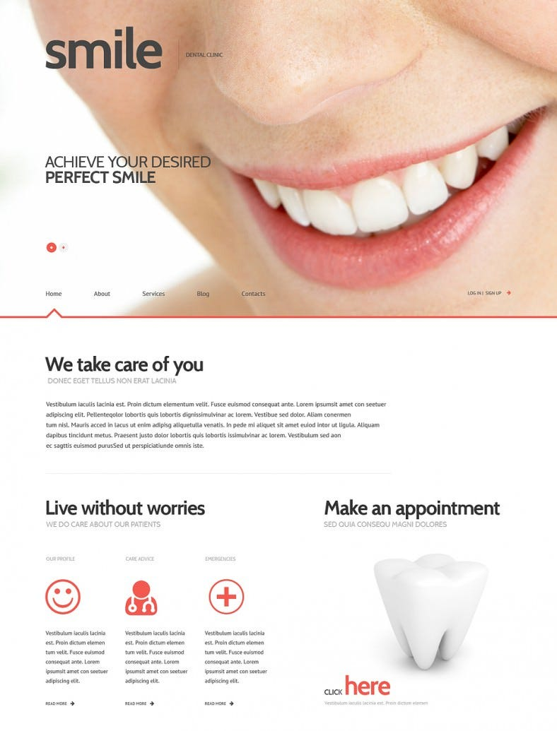 dentistry responsive wordpress theme2 788x1035