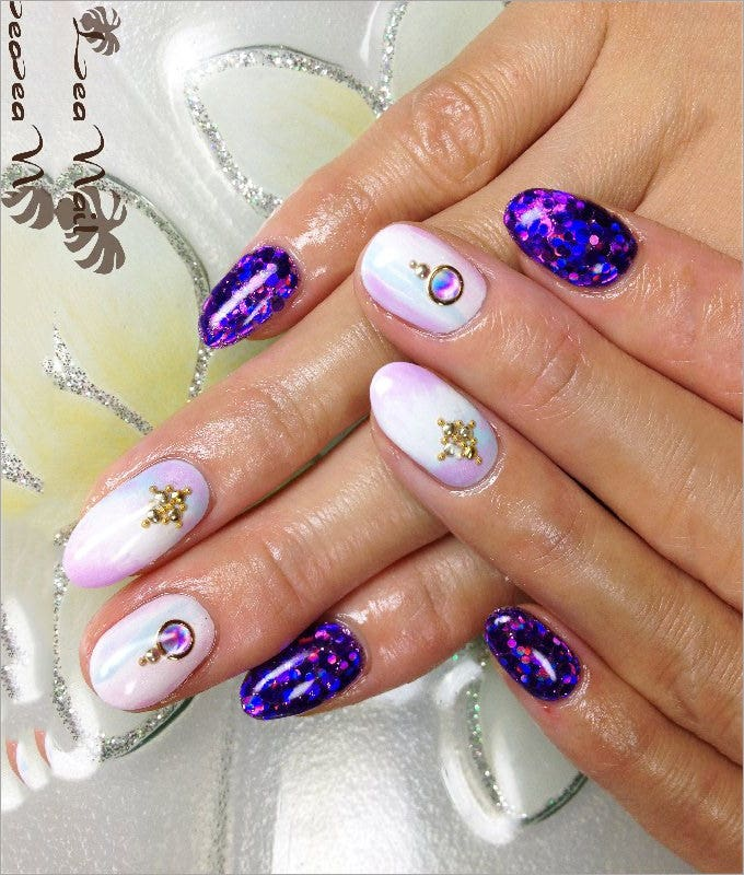 design for nails with nail polish